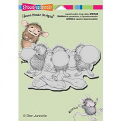 """Stampendous """"Balloon Trio"""" Cling Rubber Stamp"""
