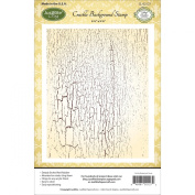 Justrite Papercraft Cling Crackle Background Stamp, 11cm by 15cm