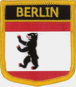 Berlin (Germany) Embroidered Patch 6cm X 7cm