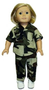 Thanking our Troops Fits 46cm Dolls