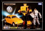 """""""KO Version"""" Transformers Masterpiece MP-21 BumbleBee Volkswagen & Daniel"""