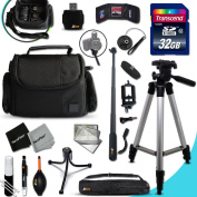 Xtech CANON POWERSHOT Accessories KIT for Canon PowerShot G3X G3 X, G7X G7 X, G1X G1 X, G1 X Mark II, G1 X,G15, G16, SX710 HS, D30, D20, SX610 HS, SX410 IS, SX600 HS, SX700 HS, SX520 HS, SX510 HS, SX40 HS, SX280 HS, SX270 HS, SX260 HS, SX500 IS, S200, ..