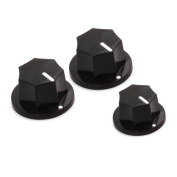 DN 1 Set Of 3 Control Knobs For Jazz Bass Guitar