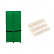 RS Berkeley Tenor Saxophone Reed Guard Deluxe (Green) + 3 Pack Lescana Saxophone Reeds