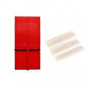 RS Berkeley Tenor Saxophone Reed Guard Deluxe (Red) + 3 Pack Lescana Saxophone Reeds