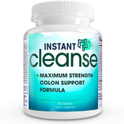 Instant Cleanse - COMPLETE Triple Strength Activated Colon Cleanse that contains herbal colon cleanse and natural colon cleanse properties to help detox and assist in colon cleansing for optimal colon health and colon care.