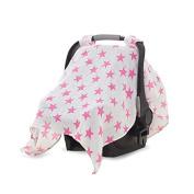 aden + anais Car Seat Canopy, Fluro Pink