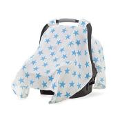 aden + anais Car Seat Canopy, Fluro Blue