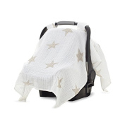 aden + anais Car Seat Canopy, Super Star Scout