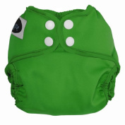 Imagine Baby Products Newborn Snap Nappy Cover, Emerald