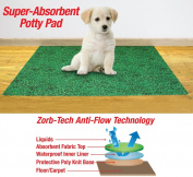 Collections Etc-leak Resistant Potty Pad for Dogs-50cm *70cm -green