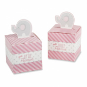 Kate Aspen Little Peanut Elephant Favour Box, Pink