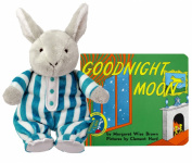 Good Night Moon Cuddle Bunny with Board Book