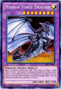 Yu-Gi-Oh! - Mirror Force Dragon (DRL2-EN005) - Dragons of Legend 2 - 1st Edition - Secret Rare