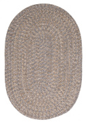 Tremont Area Rug, 0.6m by 0.9m, Grey