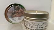 Nag Champa 120ml All Natural Soy Candle Tin