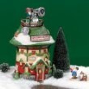 Dept 56 North Pole Village **Naughty or Nice Detective Agency** 56758