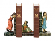 Sterling Home Child Games Bookend Trio, 18cm Tall
