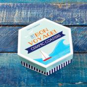 Bon Voyage! Travel Coasters Set Of 4 Gift Box