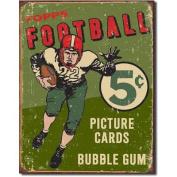 "Tin Sign ""Topps 1956 Football"""