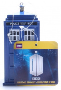 Kurt Adler 11cm Doctor Who Tardis Blow Mould Plastic Ornament