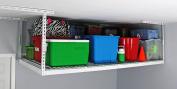 MonsterRAX Overhead Heavy Duty Garage Storage Rack , 1.2m x 2.4m/60cm , White