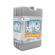 Bentgo Ice Lunch Chillers - Ultra-thin Ice Packs (4 Pack)