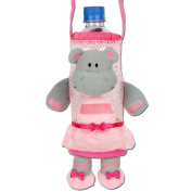 Stephen Joseph Ballet Hippo Bottle Holder - Bottle Buddy - Cute Kids Gift