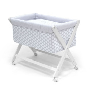 Cambrass 46 x 78 cm Wooden Crib X with Fabrics Collection Ter
