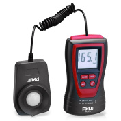 Pyle PLMT15 Handheld Lux Light Metre Photometer with 2X Per Second Sampling, LCD Display and 200000 Lux Range