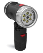 SeaLife SL985 Sea Dragon 1200 Underwater Photo/Video Dive Light with Flex-Connect Handle