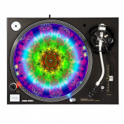 Chakra Fractal - DJ Turntable Slipmat