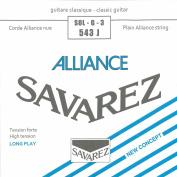 Savarez Strings 543J Nylon Classical Guitar Strings, Medium