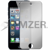 Amzer Mirror Screen Guard Protector with Cleaning Cloth for Apple iPod Touch 5G