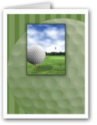 Golf Thank You Note Card- 10 Boxed Cards & Envelopes
