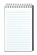 TOPS Top Wire Memo Book, 7.6cm x 13cm , Narrow Rule, 50 Sheets, 12-Pack, White,