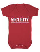 Purple Penguin Clothing Baby Grow - Security
