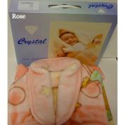 3-in-1 Sleeping Bag / Baby Nest / Fleece Blanket Pink
