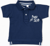 PUNKS NOT DEAD Baby Polo Shirt navy
