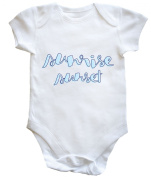 HippoWarehouse Sunrise Sunset baby vest boys girls