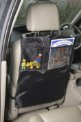 Plum Design Kick Mats (Pack of 2) Back of Car Seat Protector with Storage Pockets