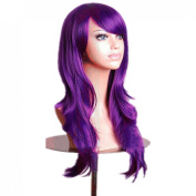 """SMO 28 """" Halloween Party Cosplay Costume 80CM Long Big Wavy Hair Heat Resistant Wig"""
