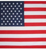 American Flag Bandana - Bandana With American Flag Print