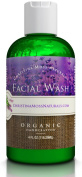 Facial Wash - Organic & 100% Natural Ingredients, Best Face Cleanser Soap for Your Skin, Anti Blemish, Skin Clearing, Fights Acne, Non Drying, Non Oily, for Women & Men. No Harmful Chemicals, No Synthetic Fragrance or Preservatives, No Sulphates, SLS,  ..