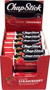 Chapstick Classic Strawberry Lipbalm SPF10 Pack of 24