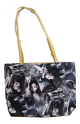 Pvc Printed Hand Bag With Zip - Cars Girls