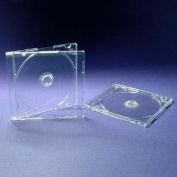 10 Single CD/DVD Clear 8cm Jewel Cases By DragonTrading®