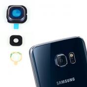GENUINE Black Sapphire GLASS Camera Lens Frame Cover For for Samsung Galaxy S6 EDGE G925