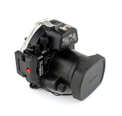 Polaroid SLR Dive Rated Waterproof Underwater Housing Case For The Canon EOS M II Camera with a 18-55mm Lens