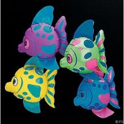 Fun Express Mini Inflatable Fish (1 dz